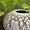 Thumbnail: Textural Porcelain Sphere with Gold Accents -XL