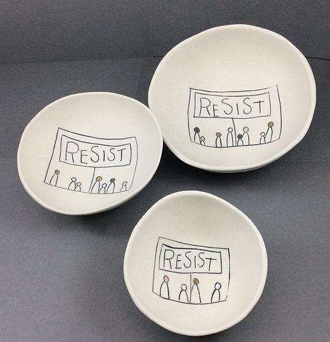 Bowls--Resist, Medium