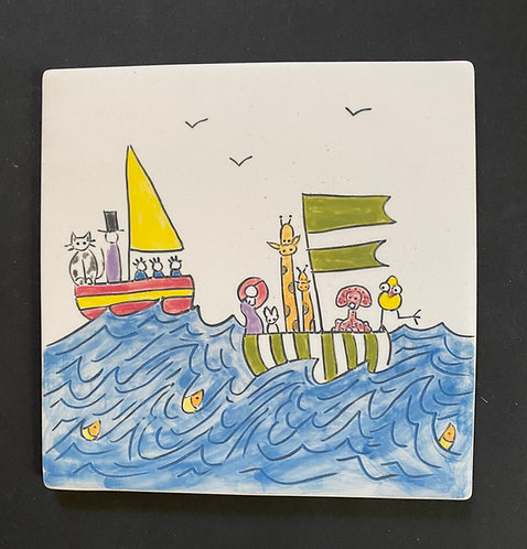 Trivet: Out Sailing with Friends