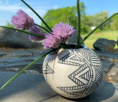 Abstract Spherical Vase