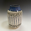 Thumbnail: Rimmed Textural Vase--Birch Forest