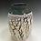 Thumbnail: Rimmed Textural Vase-Blue