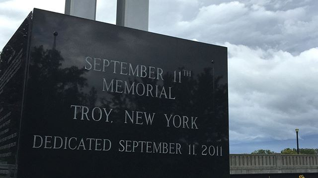 September 11th Memorial Troy, New York Dedicated September 11, 2001