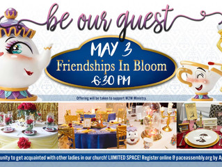 Friendships in Bloom 2019!
