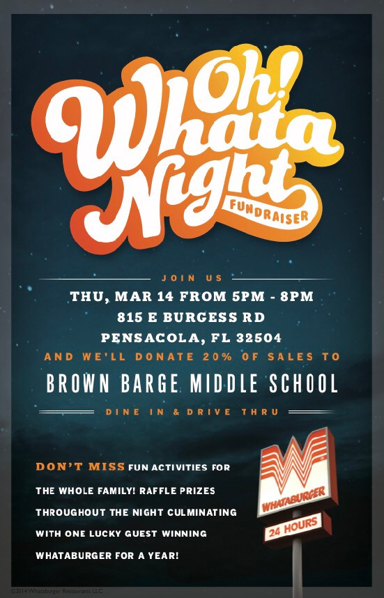 Oh! Whata Night Fundraiser Brown Barge Middle School 2019 Pensacola PhotoBooth Photo Booth