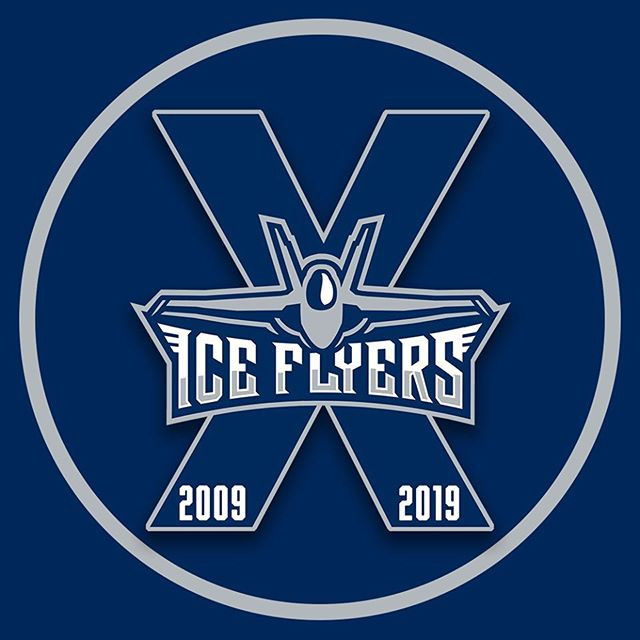 Ice Flyers 2009 2019 Pensacola A DJ Connection Sponsors Pensacola Photo Booth Sponsorship Hockey Proud Sponsors