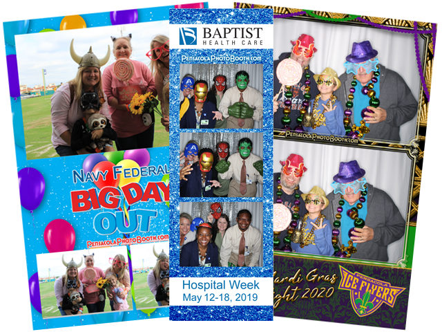 PPB Pensacola Photo Booth Prints