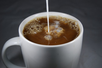 Hot Coffee with Cream