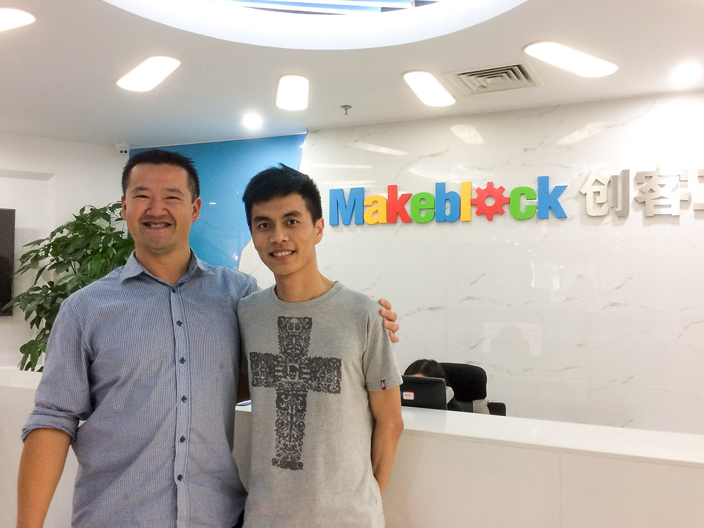 Damon Chiu (Makeblock Overseas Sales Manager) is totally dedicated to look after partners and cementing relationships world wide.