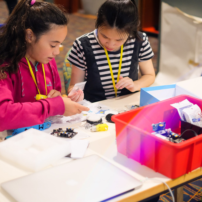 Building their very own mBot