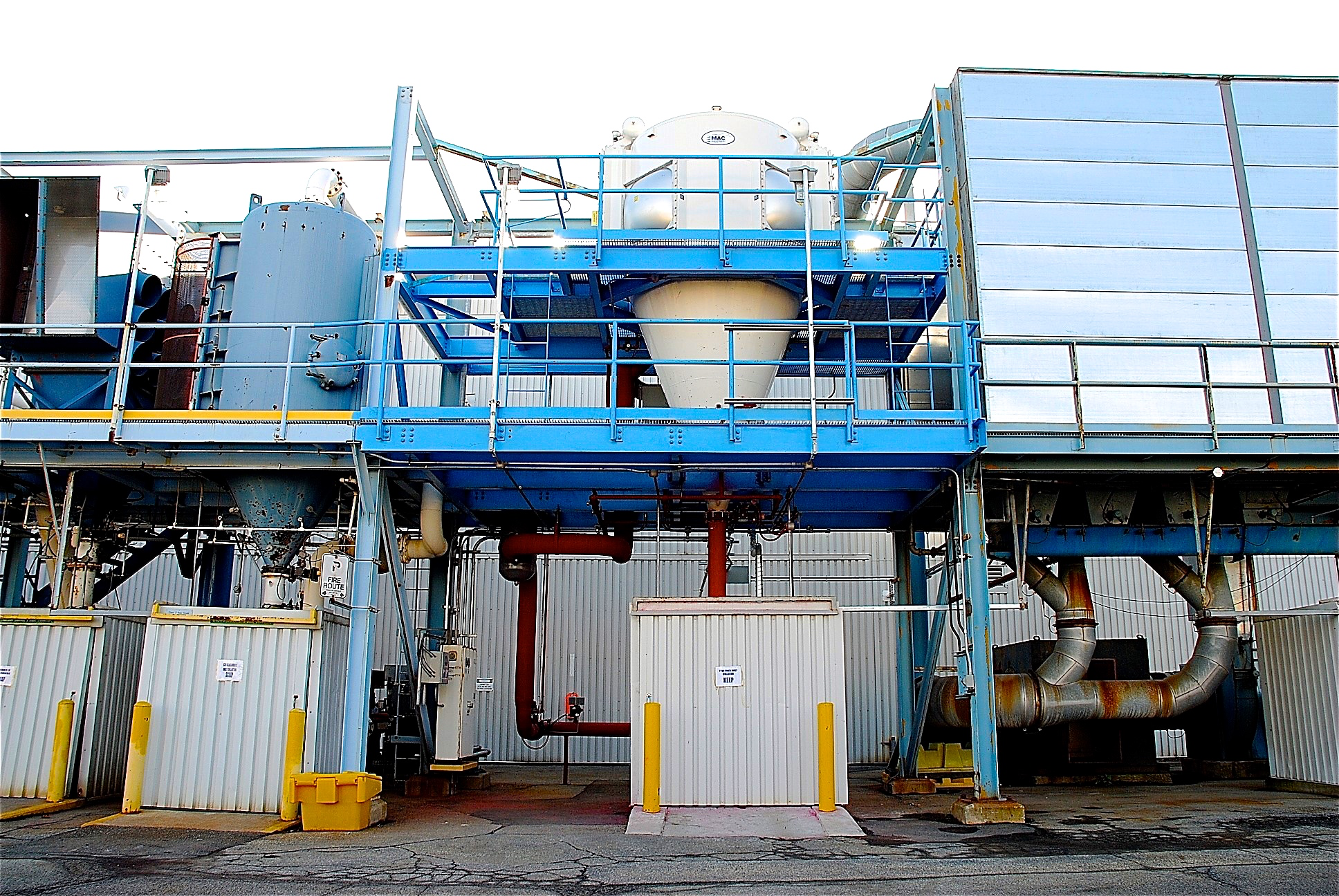 Xerox Industrial Plant