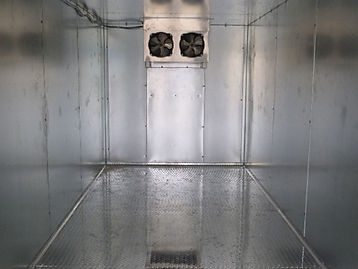 Aluminum Walk - In Freezers - Coolers