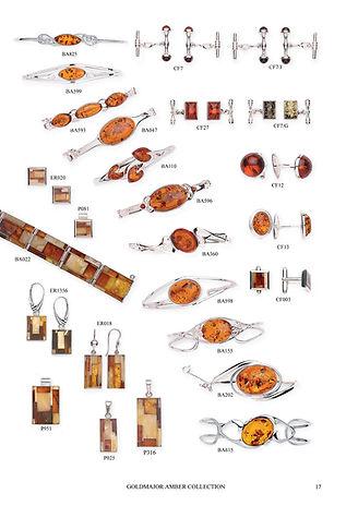 Silver Amber Jewellery Catalogue