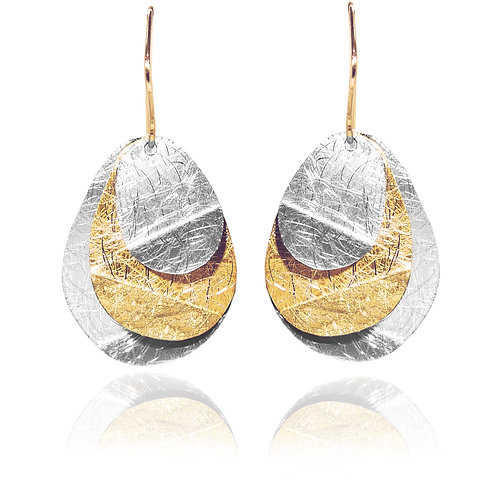 Designer Goldplated Sterling Silver Earrings