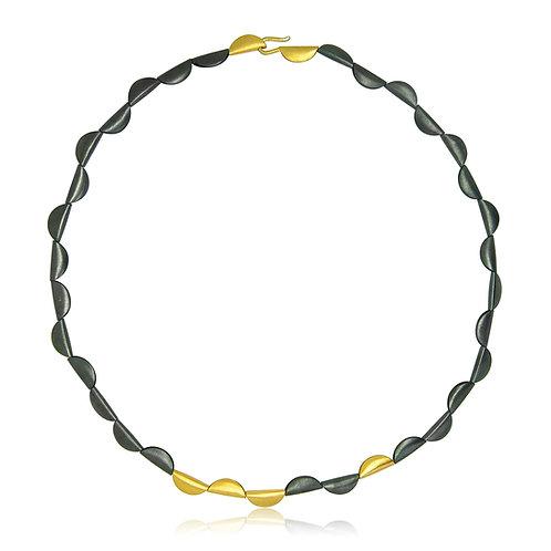 Handmade Designer Oxidised Silver Discs Earrings