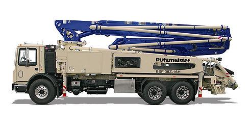 Putzmeister concrete DZ boom pump truck