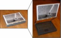 Ergonomic laptop