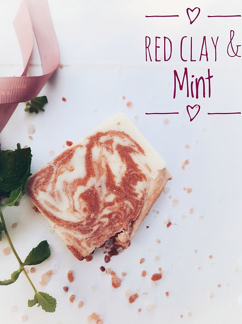 SALT Spa Red Clay & Mint 175 g