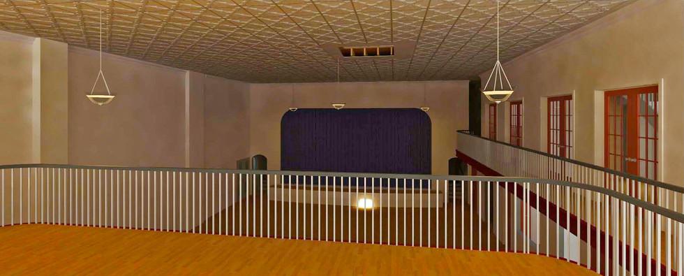 Concert Hall Rendering