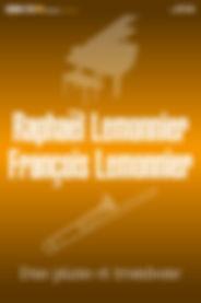 Raphaël Lemonnier & François Lemonnier / Duo Piano et Trombone