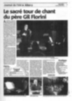 Gil Floreini / Presse / Nice Matin 22/07/2013