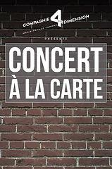 Concert à la carte