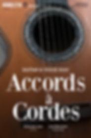 Accords à Cordes / Affiche