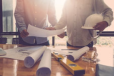 Architect concept, Architects working wi