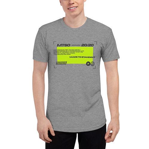MTSO Grey Sports Tech Unisex Track Shirt