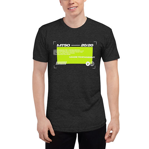 MTSO Black Sports Tech Unisex Track Shirt