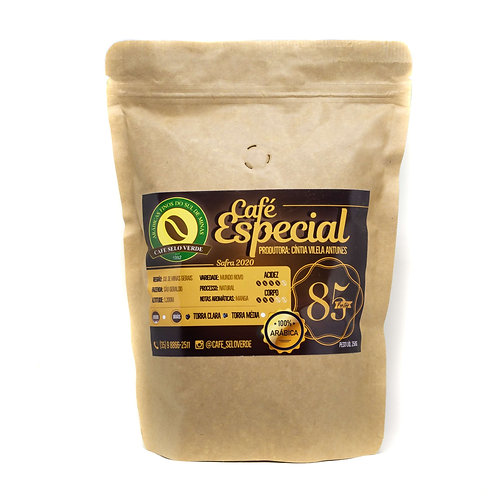 Café Especial Selo Verde 85 Pontos - SCAA (250g)