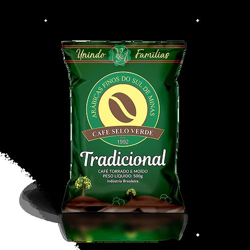 Café Tradicional Moído - Café Selo Verde (250g e 500g)