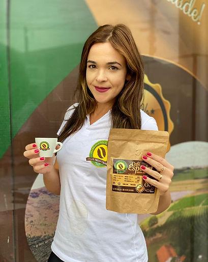Cíntia Vilela - Produtora da Café Selo Verde