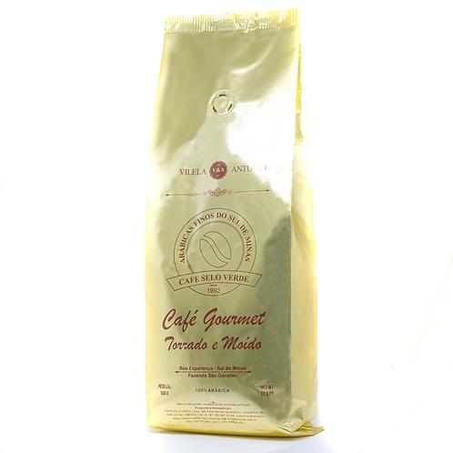 Café Gourmet Moído 100% arábica - Café Selo Verde (250g e 500g)