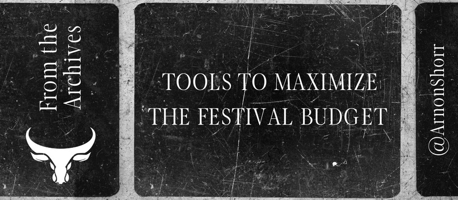 FilmFreeway Search Tools to Maximize the Festival Budget