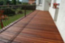 Terrassenbelag aus Holz