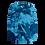 Blue Camouflage Long Sleeve Shirt Back