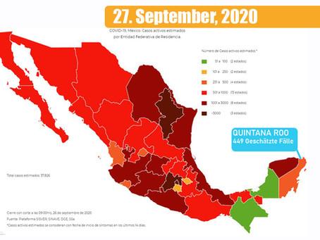 Urlaub in Mexiko trotz Coronavirus