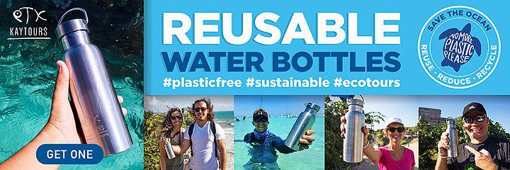 Reusable Water Bottle | Playa Del Carmen Tour