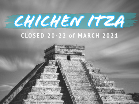 Chichen Itza closed during the Equinox 2021
