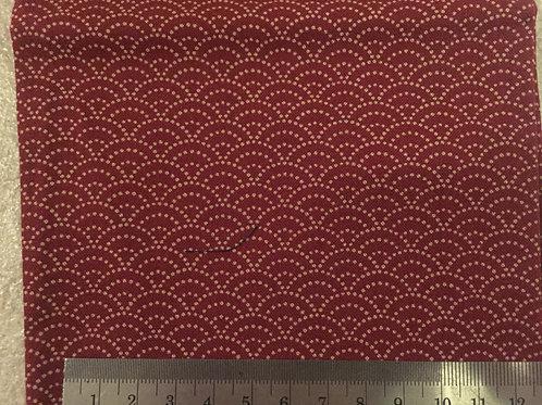 Face Mask - Japanese wave pattern