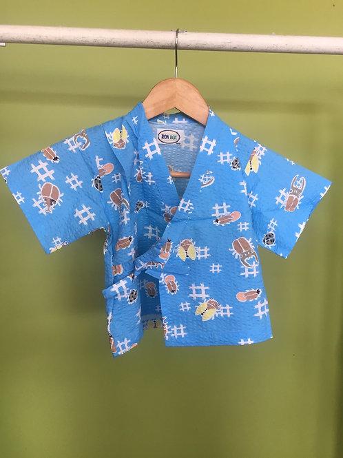 Boy's Kimono jacket and shorts