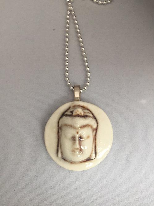 Buddha Ceramic Pendant