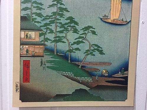 Print - One Hund Famous Views of Edo