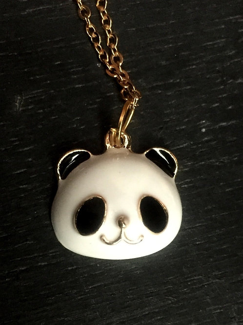 Necklace panda bear