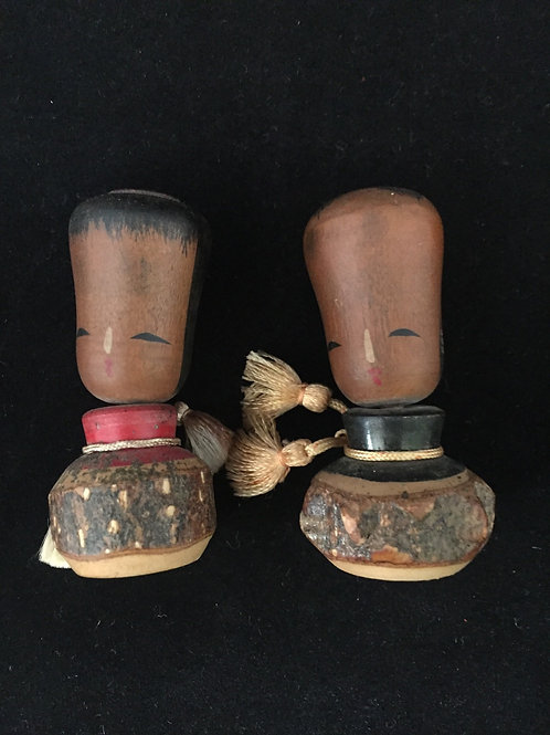 Kokeshi Doll Vintage Small -- Charn to Prevent Fires