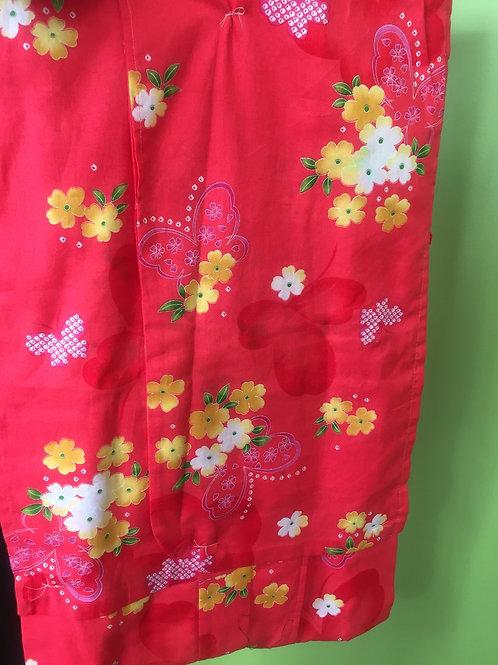 Girl's Kimono dark pink
