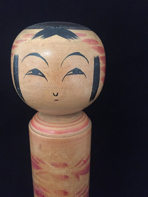 Kokeshi Doll Vintage Medium--- Charm to Prevent Fires