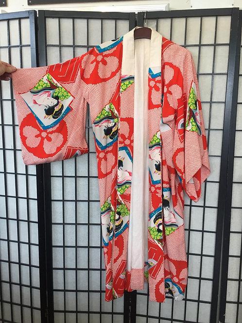 Kimono  red geisha