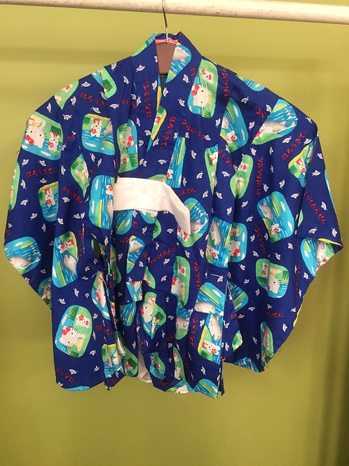 Child's Kimono Hello Kitty